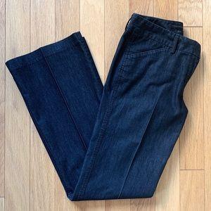 Express Design Studio Editor Stretch Flare Jeans 6